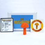 Mini Mushroom Box – Pastel Orange – Ltd. Edition of 15