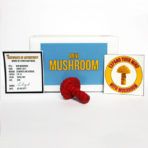 Mini Mushroom Box – Signal Red – Ltd. Edition of 15