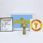 Mini Mushroom Box – Gold – Ltd. Edition of 15.