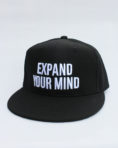 Expand Your Mind -Black Snapback