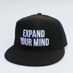 Expand Your Mind -Black Snapback