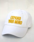 Expand Your Mind -White Dad Hat